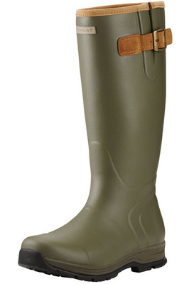 Ariat Mens Burford Insulated Wellies Olive Green