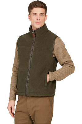 Aigle Mens New Shepper Polartec Sheepskin Gilet Bronze