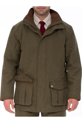 Alan Paine Mens Berwick Waterproof Shooting Jacket Olive