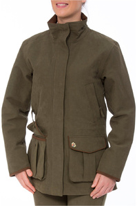 Alan Paine Womens Berwick Shooting Jacket Olive