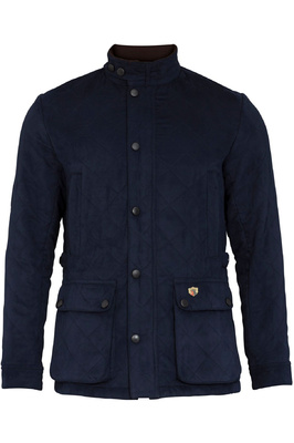 Alan Paine Mens Felwell Quilted Jacket Navy
