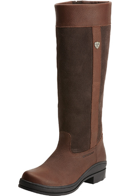 Ariat Womens Windermere H20 Country Boots Dark Brown