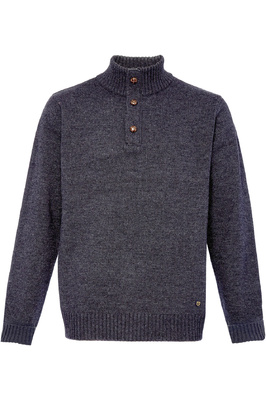 Dubarry Mens Mallon Half Zip Sweater Graphite