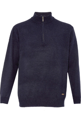 Dubarry Mens Mullen Half Zip Crew Sweater Navy