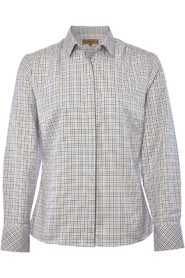 Dubarry Womens Meadow Shirt Beige Multi