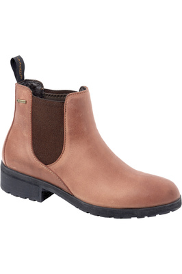 Dubarry Womens Waterford Chelsea Boots Chestnut