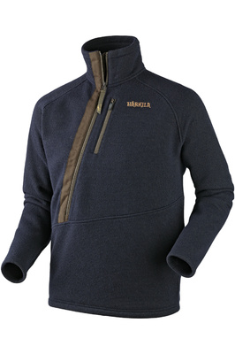 Harkila Mens Nite Pullover Fleece Dark Navy