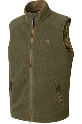 Harkila Mens Sandhem Fleece Waistcoat - Dusty Lake Green