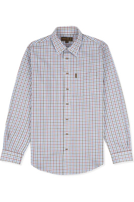 Musto Mens Classic Twill Shirt Cairngorms Berry