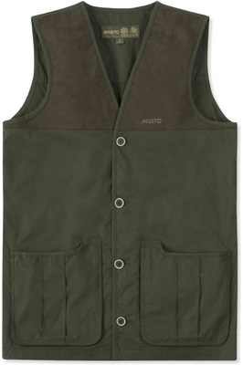 Musto Mens Shooting Vest Dark Moss