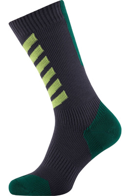 SealSkinz Hiking Mid Mid Socks Golden Moss / Olive