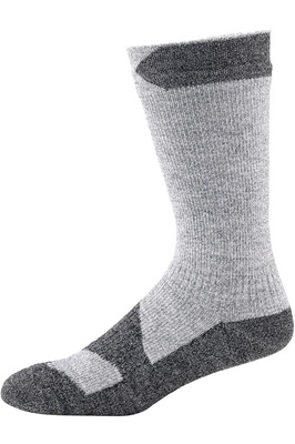 SealSkinz Walking Mid Thin Socks Light Grey Marl / Grey Marl