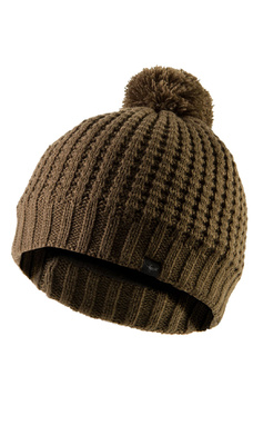 SealSkinz Waterproof Waffle Knit Bobble Hat Olive