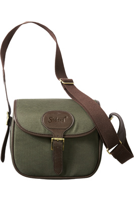 Seeland Canvas Cartridge Bag Design Line Green / Brown