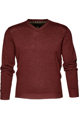 Seeland Mens Compton Pullover Bitter Chocolate