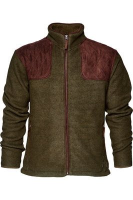 Seeland Mens William II Fleece Jacket Pine Green