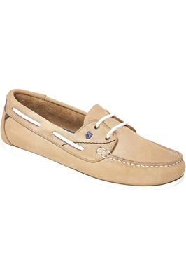 Dubarry Womens Aruba Deck Shoes Beige