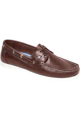 Dubarry Mens Port Deck Shoes Brown