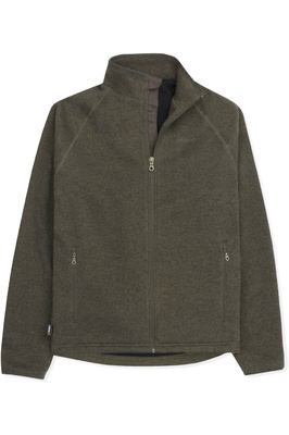 Musto Mens Super Warm Polartec Windjammer Fleece Jacket Moss